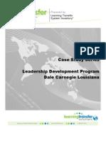 TransferLogix Leadership Development Case Study