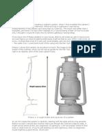 Modelling a Lantern 01 - Lightwave 3D