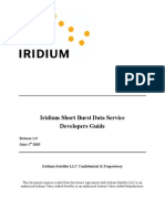 Iridium SBDS Developers Guide