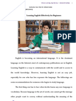 Learning English Effectively for Beginners 2