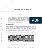 Markus Redeker- Gliders and Ether in Rule 54