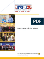 2011 Community Service Companies of the Week