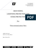 Typical Telecom Earthing, Surge and LP