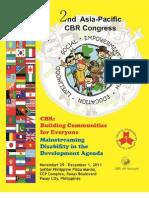 2nd Cbr Congress Programme Book Download