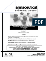 Pharmaceutical and Related Careers