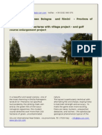 Golf Course Between Bologna and Rimini