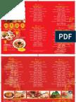 House of Seafood CNY Menu