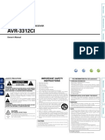 Denon Avr-3312cie3 Eng CD-rom v00