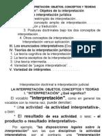 1 Guastini 1 - Cap. I = Interpretac Objetos, Conceptos y Teorias = Mod+Horiz.=