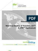 Mini Case Studies of TransferLogix & LTSI Applications