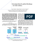 Aqueous Phenol Decomposition by Pulsed Discharge on Water Surface