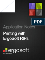 Printing With ErgoSoft RIPs