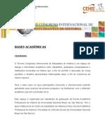 Bases Académicas del III CIEH Portugues
