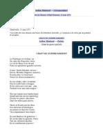 Lettre Du Voyant (Rimbaud)