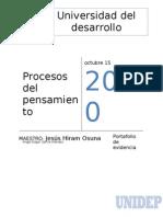 Port a Folio de Procesos Del to