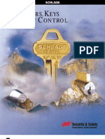 Schlage Cylinders and Key Control