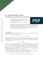 Jose P. Mimoso and Francisco S. N. Lobo- An anti-Schwarzshild solution