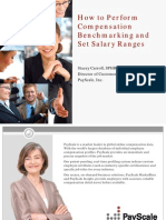 PayScale How to Perform Compensation Bench Marking