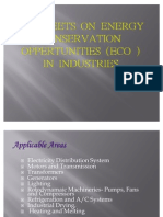 Energy Conservation and Efficiency in Industries