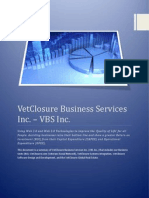 Vet Closure Business Services Inc Overview