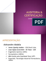 Auditoria & Certificação