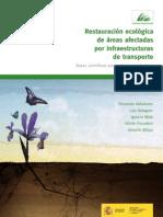 Libro Restauración ecológica de áreas afectadas por infraestructuras de transporte