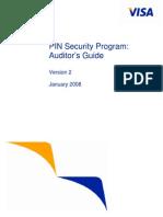 Visa Pin Security Program Auditors Guide