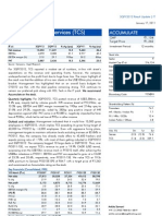 Tata Consultancy Services Result Updated