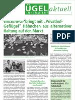 Wiesenhof Newsletter November 2011