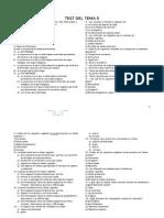 test del  tema 5 (citología) morfología