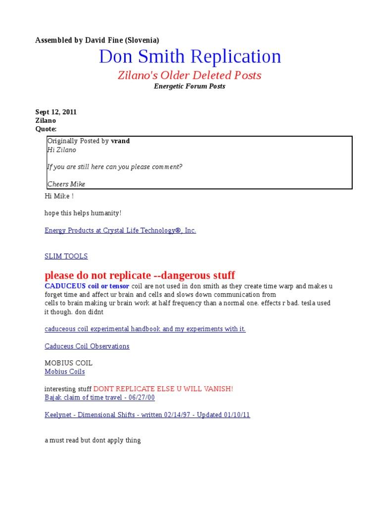 Zilano Older Deleted Posts Don Smith Replication Jan 16 2012 Falstads Java Based Circuit Simulator Http Wwwfalstadcom Transformer Inductor