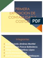 Apuntes de Las Cuentas Del Balance y Sus Formas de Presentacion En Reporte y en Cuenta