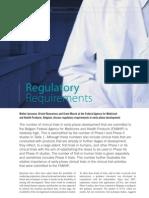 Belgium Phase 1 Requirements