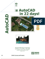 Deluxe AutoCAD in 22 Days