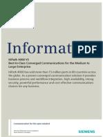 HiPath 4000 V5, Data Sheet, Issue 2
