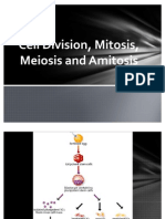 Cell Division,Mitosis,Meiosis,Amitosis