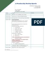 GM Agenda 12-001