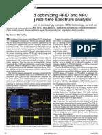 Rfid Using Spectral Analyzer