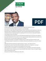 Pray for Me, Jonathan Begs Adeboye