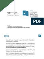 Docentes y contenidos 2ª Edición Postgrado Gestión Empresarial de la Música U.Valencia