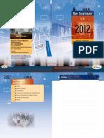 Programme de formation 2012 DLP 18
