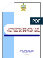 GW Quality in Shallow Aquifers