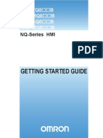 Omron Nq-series HMI Getting Started Guide