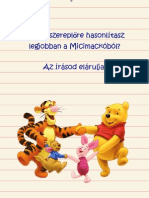 Micimackó grafológiája
