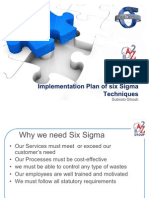 Six Sigma Technique Implementation in A2Z Infra Services