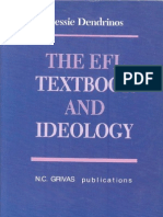 The Efl Textbook and Ideology