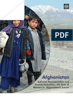 Afghanistan Gender Report