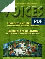 Voices 2011-1. Ecología y Religión