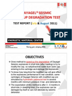 Dayagel Seismic Test Report-july-August 2011