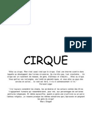 Cirque Peinture à L Acrylique Dessin